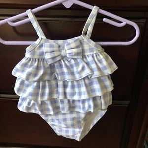3-6 mo Janie and jack baby girl bathing suit